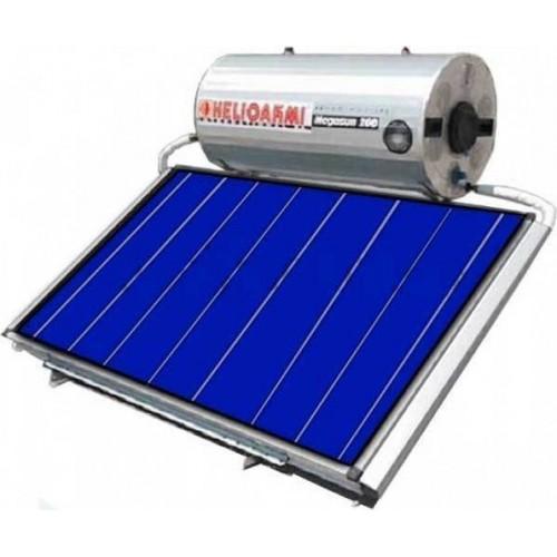 Helioakmi Megasun 200-HOR 2.62m² glass boiler Οριζόντιος Ηλιακός Τριπλής επιλεκτικός